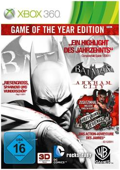 Batman: Arkham City - Game of the Year Edition (Xbox 360)