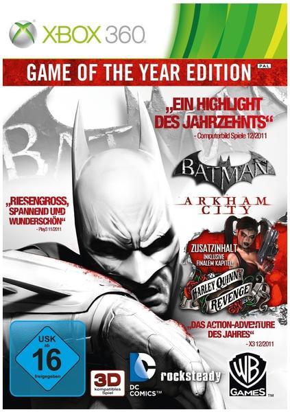 Batman: Arkham City - Game of the Year Edition (Xbox 360)