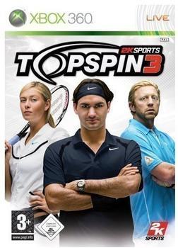 Take 2 Top Spin 3 (Xbox 360)