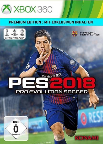 Pro Evolution Soccer 2018: Premium Edition (Xbox 360)