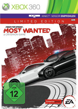Need for Speed: Most Wanted a Criterion Game - Limited Edition (Xbox 360)