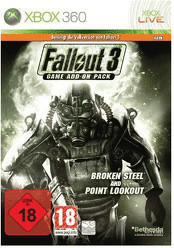 Fallout 3: Game Add-On Pack - Broken Steel & Point Lookout (Xbox 360)