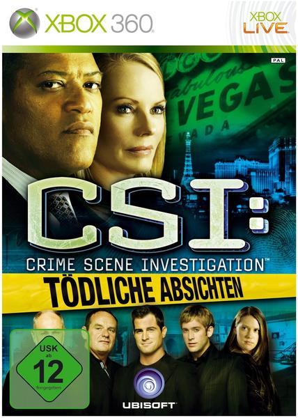 CSI: Tödliche Absichten Spiele
