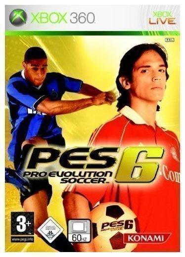 Konami Pro Evolution Soccer 6 (Xbox 360)