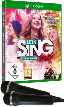 Let's Sing 2017 + 2 Mikrofone (Xbox One)