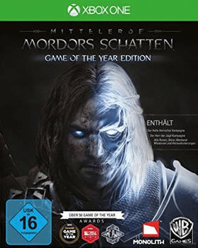 Warner Mittelerde: Mordors Schatten - Game of the Year Edition (PEGI) (Xbox One)