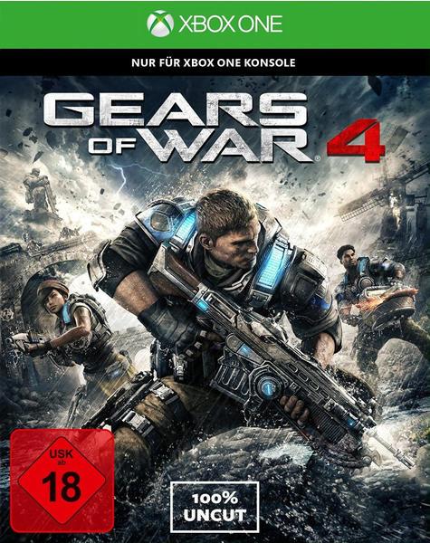 Microsoft Gears of War 4 (PEGI) (Xbox One)