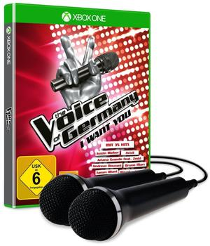 The Voice of Germany: i want you + 2 Mikrofone (Xbox One)