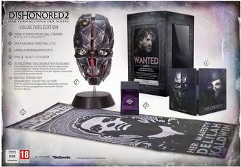Bethesda Dishonored 2: Das Vermächtnis der Maske - Collectors Edition (PEGI) (Xbox One)