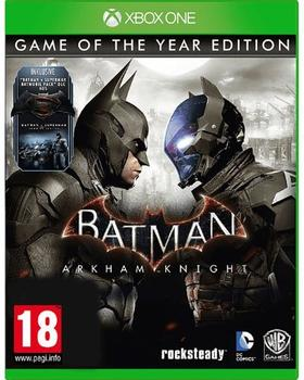 Warner Batman Arkham Knight XB-One GOTY AT