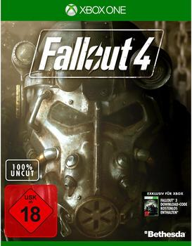 BETHESDA Fallout 4 Inkl. Downloadcode für Fallout 3 (PEGI) (Xbox One)