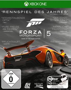 Microsoft Forza Motorsport 5 - Game of the Year Edition (Xbox One)