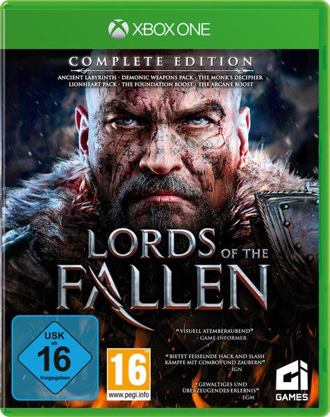 CI Games Lords of the Fallen - Complete Edition (USK) (Xbox One)