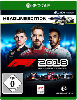 Codemasters F1 2018 Headline Edition Xbox One