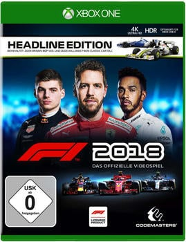 Codemasters F1 2018 Headline Edition Xbox One