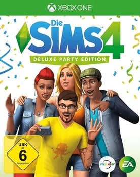 Electronic Arts Sims 4 XB-One Deluxe Party Edition AT incl. Sonnenterassen Accessoires - Electronic Arts 50309...