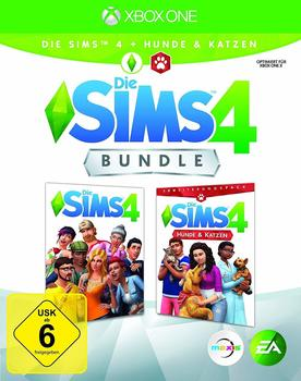 Electronic Arts Die Sims 4 Bundle: Die Sims 4 + Hunde & Katzen (Xbox One)