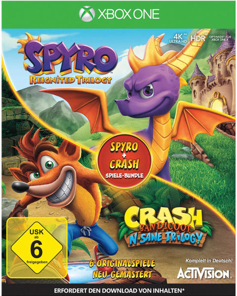 Spyro: Reignited Trilogy + Crash Bandicoot: N-Sane Trilogy (Xbox One)