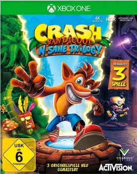 Microsoft Crash Bandicoot N. Sane Trilogy, Xbox One Videospiel
