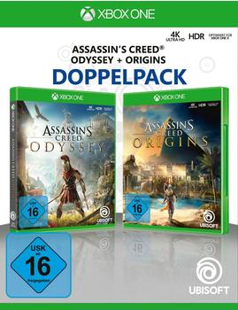 UbiSoft Assassins Creed Odyssey + Origins Doppelpack (Xbox One)