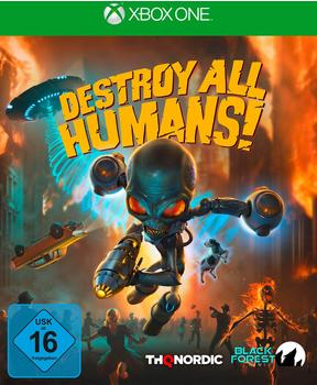 THQ Destroy All Humans! Xbox One