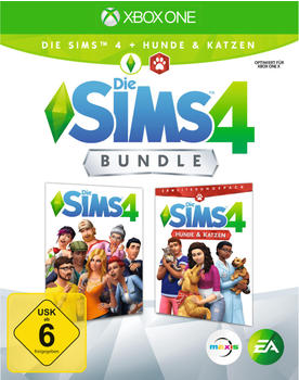 Microsoft The Sims 4 Plus Cats & Dogs Bundle Xbox One