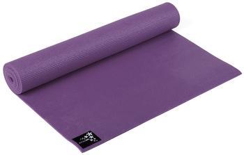 Yogistar Yogamatte Basic 183 x 61 x 0,4 cm aubergine