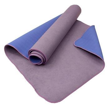 Carnegie Fitness Carnegie Yoga Towel Mat - extrem rutschfeste Yogamatte mit Mikrofaser Handtuch Oberfläche, Feuchtigkeit absorbierend