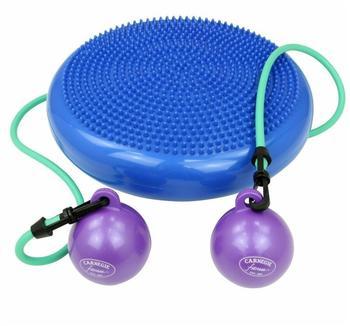 Carnegie Fitness Carnegie H²O - patentierte Kombination von Pilates Kissen, Toning Balls und Expander. All-in-One Balance- & Kraft-Trainer