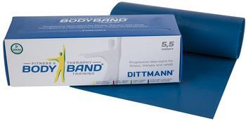 Dittmann Body Band 5.5m, Blau - extra stark