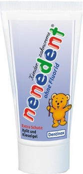 Dentinox Nenedent Kinderzahncreme ohne Fluorid (50ml)