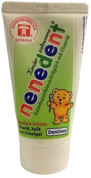Dentinox Nenedent Kinderzahncreme homöopathieverträglich mit Fluorid (50ml)