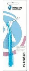 Miradent Pic-Brush Interdentalbürsten-Set blau