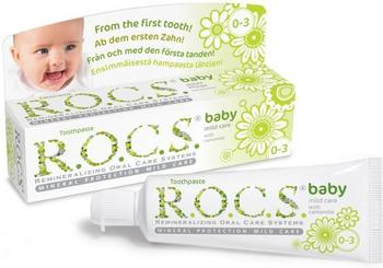"R.O.C.S. Baby ""Duftende Kamille"" Zahncreme"