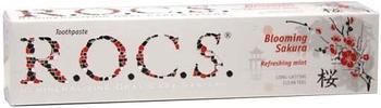 R.O.C.S. Japanische Kirschblüte + Minze Zahncreme
