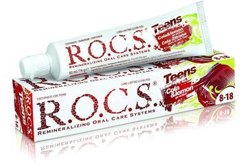 R.O.C.S. Teens Cola + Zitrone Zahncreme