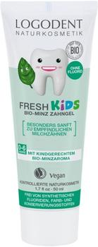 Logona Logodent Fresh Kids Bio-Minz Zahngel (50ml)