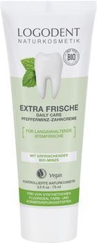 Logona Logodent Extra Frische Daily Care Pfefferminz-Zahncreme (75ml)