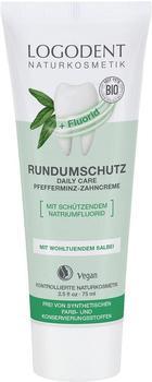 Logona Logodent Rundumschutz Daily Care Pfefferminz-Zahncreme (75ml)