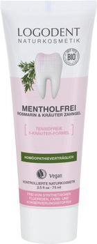 Logona Logodent Mentholfrei Rosmarin & Kräuter Zahngel (75ml)