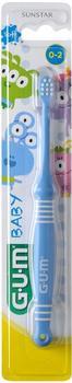 GUM Baby Zahnbürste Monster 0-2 Jahre