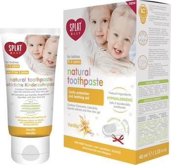 Splat Baby natürliche Kinderzahnpasta Vanille (40ml)