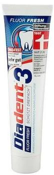 Diadent 3 Fluor Fresh Zahngel 125 ml
