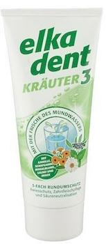 Elkadent Kräuter 3 Zahncreme 75 ml