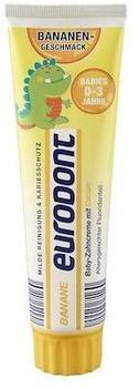 Eurodont Baby-Zahncreme mit Calcium Banane 100 ml
