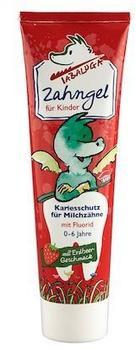 Tabaluga Zahngel für Kinder mit Fluorid Erdbeere 100 ml