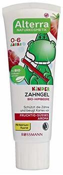 Alterra Kinder Zahngel Bio-Himbeere 75 ml