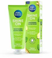 Perlweiss Shine On Whitening Zahncreme Ingwer und Minze (75 ml)