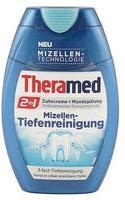 Theramed 2 in 1 Zahncreme + Mundspülung Mizellen-Tiefenrein (75 ml)