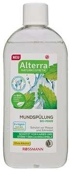 Alterra Naturkosmetik Mundspülung Bio-Minze 450 ml